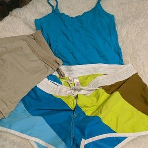 Pants - Op XL Bundle - 2 shorts and tank